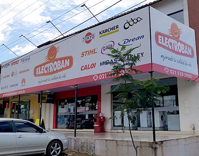 Electroban Santa Rosa del Aguaray